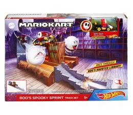 Pojazd / tor i garaż Hot Wheels Mario Kart Starcie z wrogiem Boo's Spooky