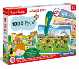 Zabawka edukacyjna Clementoni Mówiące pióro 1000 pytań