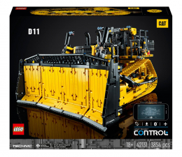 Klocki LEGO® LEGO Technic 42131 Sterowany przez aplikację buldożer Cat® D11