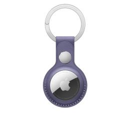 Lokalizator i akcesoria Apple Skórzany brelok do AirTag glicynia