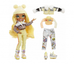 Lalka i akcesoria Rainbow High Winter Break Fashion Doll- Sunny Madison