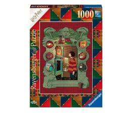 Puzzle 1000 - 1500 elementów Ravensburger Harry Potter w rodzinie Weasleyów 1000 el.