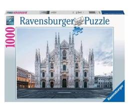 Puzzle 1000 - 1500 elementów Ravensburger Katedra Duomo, Mediolan 1000 el.