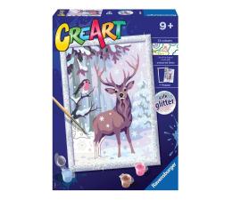 Zabawka plastyczna / kreatywna Ravensburger CreArt dla dzieci: Zimowi przyjaciele