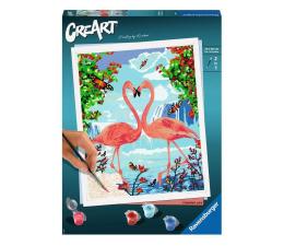 Zabawka plastyczna / kreatywna Ravensburger CreArt: Zakochane flamingi