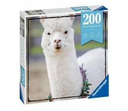 Puzzle do 500 elementów Ravensburger Momenty Alpaka 200 el.