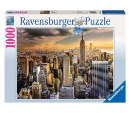Puzzle 1000 - 1500 elementów Ravensburger Niesamowity Nowy Jork 1000 el.