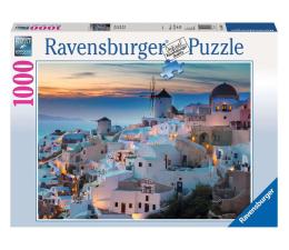 Puzzle 1000 - 1500 elementów Ravensburger Wieczór na Santorini 1000 el.