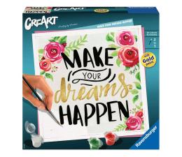 Zabawka plastyczna / kreatywna Ravensburger CreArt: Make your dreams happen