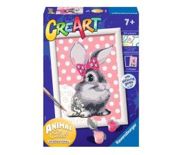 Zabawka plastyczna / kreatywna Ravensburger CreArt dla dzieci: Słodki króliczek