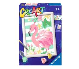 Zabawka plastyczna / kreatywna Ravensburger CreArt dla dzieci: Różowy flaming