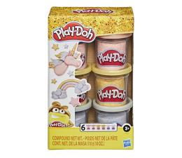 Zabawka plastyczna / kreatywna Play-Doh Slime HydroGlitz Zestaw 6-pak metalicznych tub