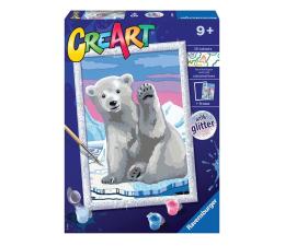 Zabawka plastyczna / kreatywna Ravensburger CreArt dla dzieci: Miś polarny