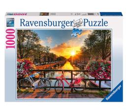 Puzzle 1000 - 1500 elementów Ravensburger Rowery w Amsterdamie 1000 el.
