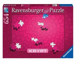 Puzzle 500 - 1000 elementów Ravensburger Puzzle KRYPT Różowe 654 el.