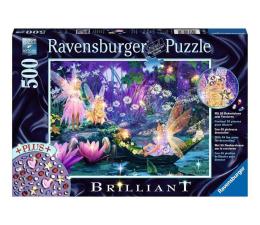 Puzzle 500 - 1000 elementów Ravensburger Puzzle Diamentowe: W bajkowym lesie 500 el.