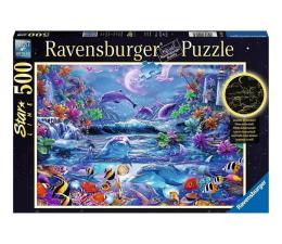Puzzle 500 - 1000 elementów Ravensburger Świecące w ciemności: Magiczny świat 500 el.