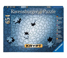 Puzzle 500 - 1000 elementów Ravensburger Puzzle KRYPT Srebrne 654 el.