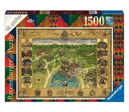 Puzzle 1000 - 1500 elementów Ravensburger Mapa Hogwartu 1500 el.