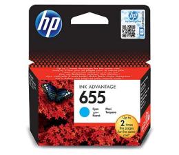 Tusz do drukarki HP 655 cyan 600str.