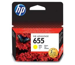 Tusz do drukarki HP 655 yellow 600str.