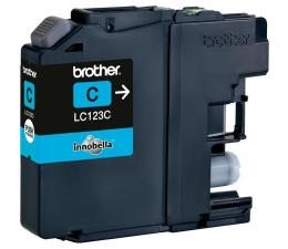 Tusz do drukarki Brother LC123C cyan 600str.