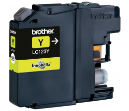 Tusz do drukarki Brother LC123Y yellow 600str.
