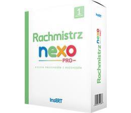 System sprzedaży InsERT Rachmistrz Nexo PRO 1st. (księgowość i finanse)
