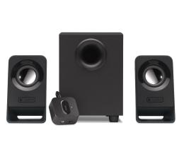 Głośniki komputerowe Logitech 2.1 Z213 czarne