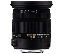 Obiektyw zmiennoogniskowy Sigma 17-50mm F2.8 EX DC OS HSM Nikon