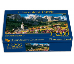 Puzzle powyżej 1500 elementów Clementoni Puzzle  Sellagruppe 13200 el.
