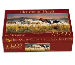 Puzzle powyżej 1500 elementów Clementoni Puzzle Band of Thunder 13200el.