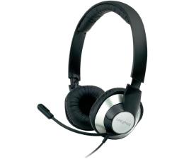 Słuchawki przewodowe Creative HS-720 czarno-srebrne z mikrofonem
