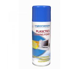 Do szkła i plastiku Esperanza Pianka do czyszczenia plastiku 400ml