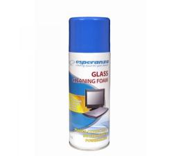 Do szkła i plastiku Esperanza Pianka do czyszczenia powierzchni szklanych 400ml