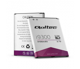 Bateria do smartfonów Qoltec Samsung Galaxy SIII I9300, 3100mAh