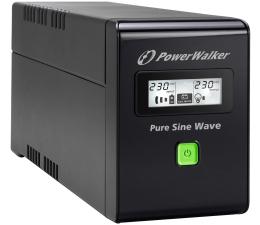 Zasilacz awaryjny (UPS) Power Walker VI 800 SW/IEC (800VA/480W, 3xIEC, USB, LCD, AVR)