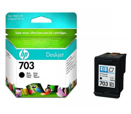 Tusz do drukarki HP 703 black 4ml