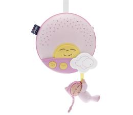 Lampka/projektor dla dziecka Chicco Panel na łóżeczko Sunset różowy