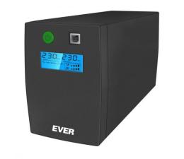 Zasilacz awaryjny (UPS) Ever EASYLINE 850 AVR (850VA/480W, 2xPL, USB, AVR, LCD)