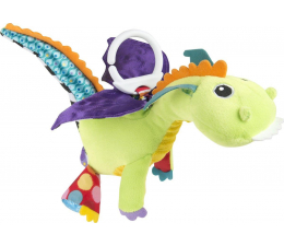 Zabawka dla małych dzieci TOMY Lamaze Zawieszka  Smok Flip Flap
