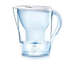 Filtracja wody Brita Dzbanek filtrujący MARELLA 2,4L  biała + 4 wkłady Pure