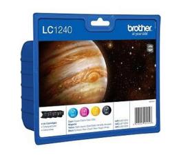 Tusz do drukarki Brother LC1240VALBP CMYK 2400str. (zestaw)