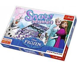 Gra dla małych dzieci Trefl Snow Adventure Frozen