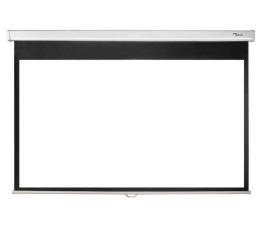 Ekran projekcyjny Optoma Ekran ręczny 92' 203x114 16:9 Biały Matowy