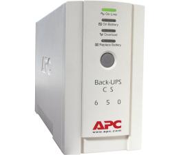 Zasilacz awaryjny (UPS) APC BACK-UPS CS (650VA/400W, 4xIEC, 2xRJ-45, AVR)