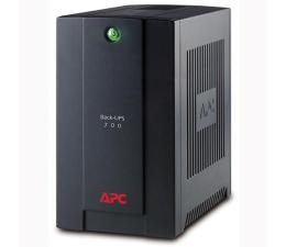 Zasilacz awaryjny (UPS) APC Back-UPS (700VA/390W, 4xIEC, RJ-45,USB, AVR)