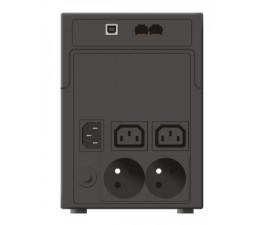 Zasilacz awaryjny (UPS) Ever EASYLINE 1200 (1200VA/600W, 2xIEC, 2xFR, AVR, USB)
