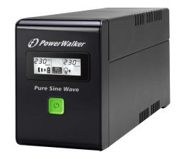 Zasilacz awaryjny (UPS) Power Walker VI 800 SW/FR (800VA/480W, 2xPL, USB, LCD, AVR)