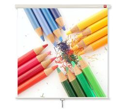 Ekran projekcyjny Avtek Ekran ręczny 97' 175x175 1:1 Biały Matowy